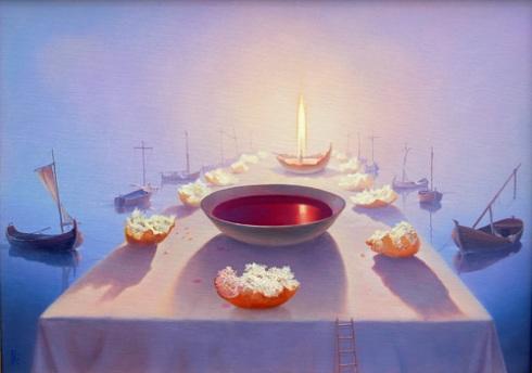 mei 17 sacrament schilderij